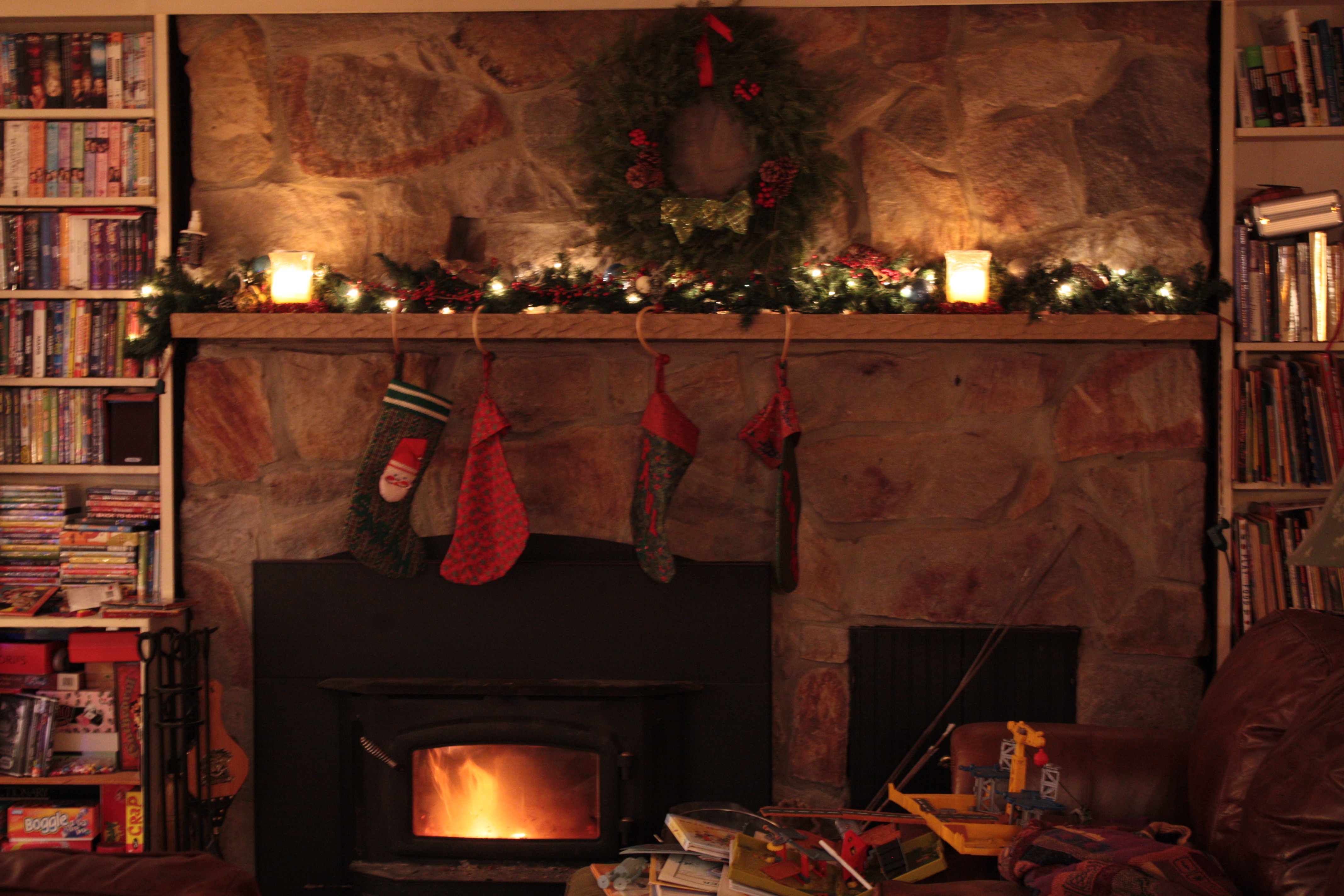 Christmas Hearth.Cozy Christmas Hearth The Fair View
